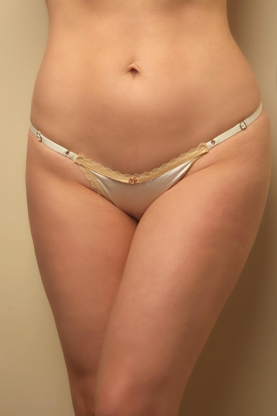 Tiny Silk Panties HD